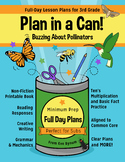 Plan in a Can! 3rd Grade: Full Day Emergency Sub Plans: Po