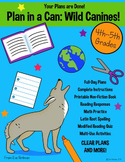 Plan in a Can 2: Full Day Bundled Sub Plans: 4th-5th Grades