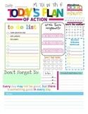 Plan of Action - Teacher To Do List