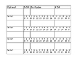 Plan of Care Tracker