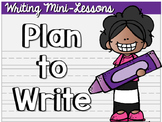 Plan to Write