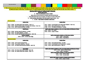 Carnaval Planning Template (French Carnival) for Core French/French Immersion