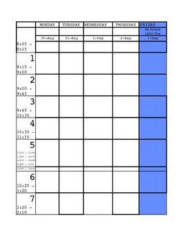 Planbook 2010 2011