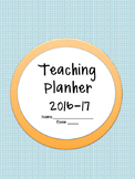 Planbook Cover