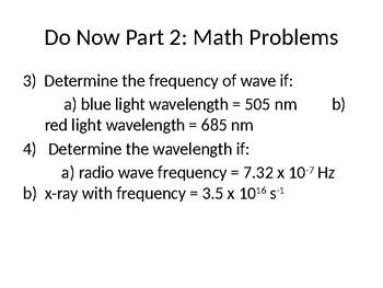 Planck's Equation & Quantum Theory