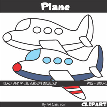 Plane Clipart By Km Classroom Teachers Pay Teachers