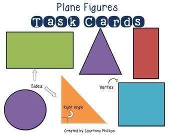 Plane Figures Task Cards