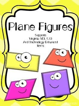 Plane Figures - VA Math SOL 5.13 CCSS.Math.Content.5.G.G.3
