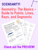 Plane Geometry: Guide to Basic Figures - Points, Lines, Ra