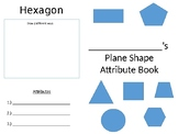Plane Shape Attribute Book