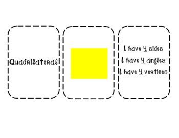 Plane Shape Flashcards