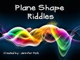 Plane Shape Review and Riddles