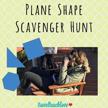 Plane Shape Scavenger Hunt