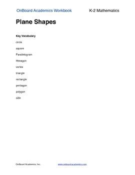 Plane Shapes