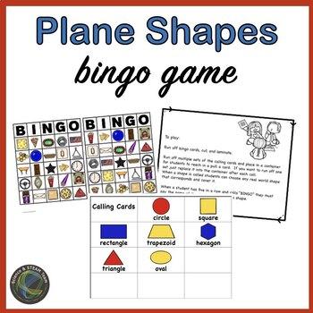 Plane Shapes Bingo