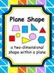 Plane Shapes Bundle Pack