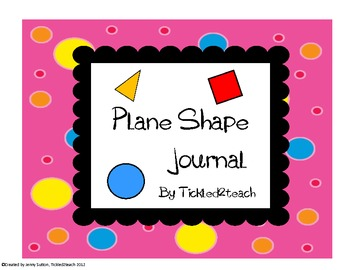 Plane Shapes Journal