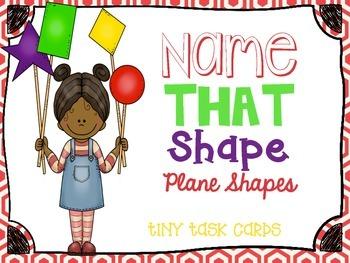 Plane Shapes Name that Shape