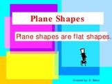Plane Shapes Power Point Presentation