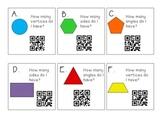 Plane Shapes QR Codes