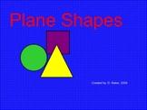 Plane Shapes Smartboard Lesson