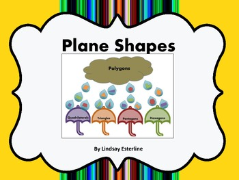 Plane Shapes Sorting Activity