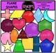 Plane Shapes Super Clip Art Bundle