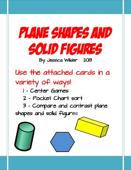 Plane Shapes and Solid Figures
