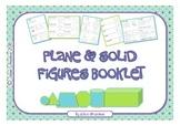 Plane & Solid Figures Booklet