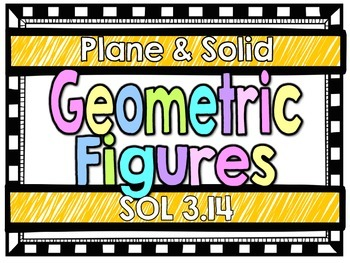 Plane & Solid Geometric Figures-SOL 3.14