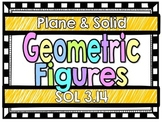 Plane & Solid Geometric Figures-SOL 3.14