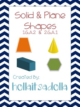 Plane & Solid Shape Assessment