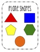 Plane & Solid Shapes Poster