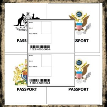 Plane and Airport Role Play Printables