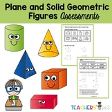 Plane and Solid Figures Assessments