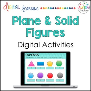 Plane and Solid Figures Digital Activities for Google Drive