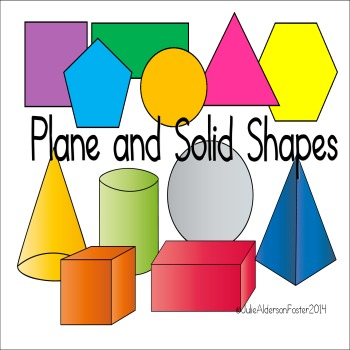 Plane and Solid Shapes Flipchart