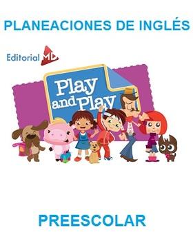 Planeaciones de Inglés Preescolar