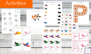 Planes Activity Pack
