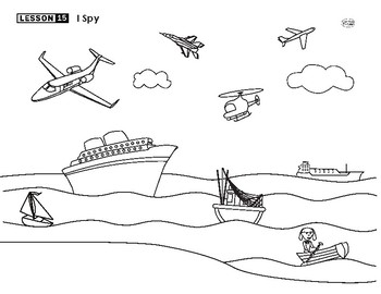 Planes, Boats, and Trains Lesson Plan