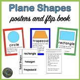 Planes Shapes: Posters and Flip Books