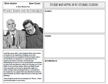Planes, Trains, and Automobiles Movie Guide