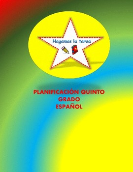 Planes de 5to grado por unidades - Español
