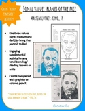 Planes of the Face: Tonal Blending & Shading Techniques- Martin Luther King, Jr.