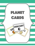 Planet Cards {Sorting, Display and Bulletin Board Cards}