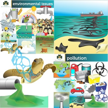 Planet Conservation Clip Art Bundle
