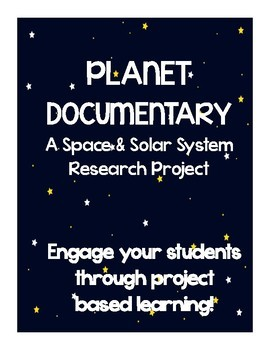 Space Research Activity: Planet Documentary