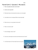 Planet Earth 2 Episode 2: Mountains Worksheet