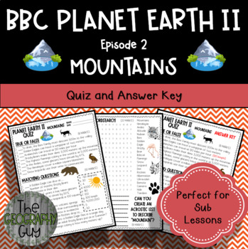 Planet Earth 2 - MOUNTAINS - Student Quiz