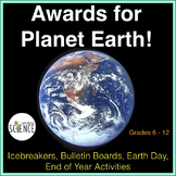 Biology Earth Day Activity: Awards for the Most Amazing Plants and Animals
